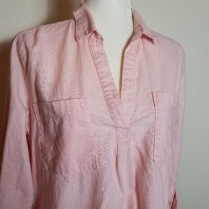 Old Navy Tops - Old Navy Popover Linen Tunic